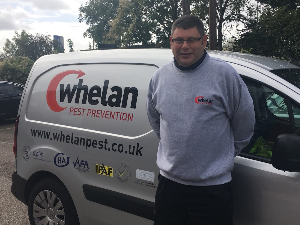 Whelan Pest Prevention Staffordshire